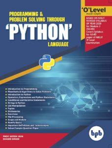 m3-r5 pyhon book bpb publication o level